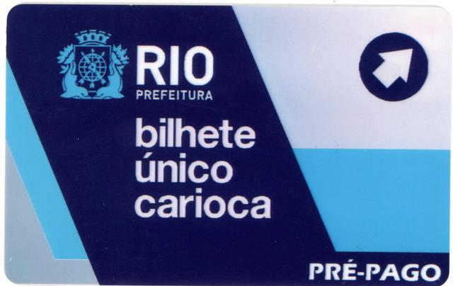 Bilhete unico pré-pago