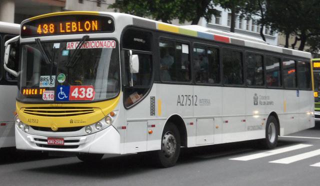 Linha 438 Vila Isabel - Leblon