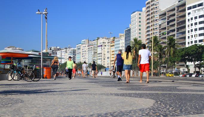 Avenida Atlantica, Copacabana, Rio de Janeiro