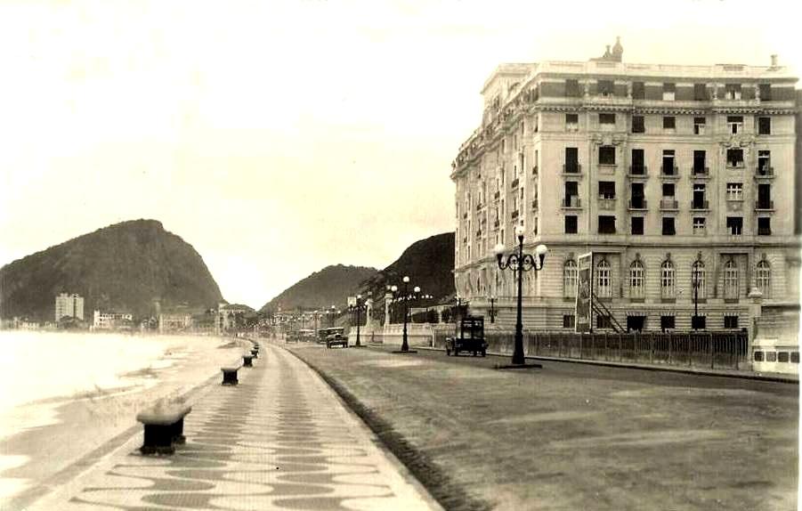 Copacabana Palace em 1923