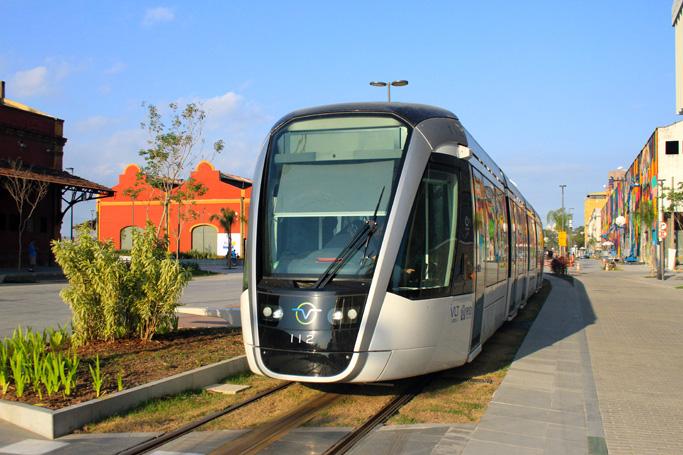 VLT - O novo transporte público do Rio de janeiro.
