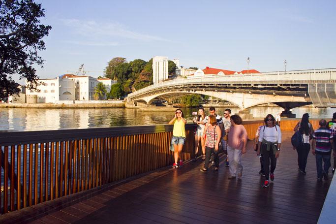 Ponte Arnaldo Luz - Orla Conde - Rio de Janeiro